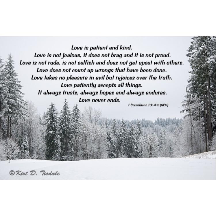 Love Is Patient: Hidden Lake