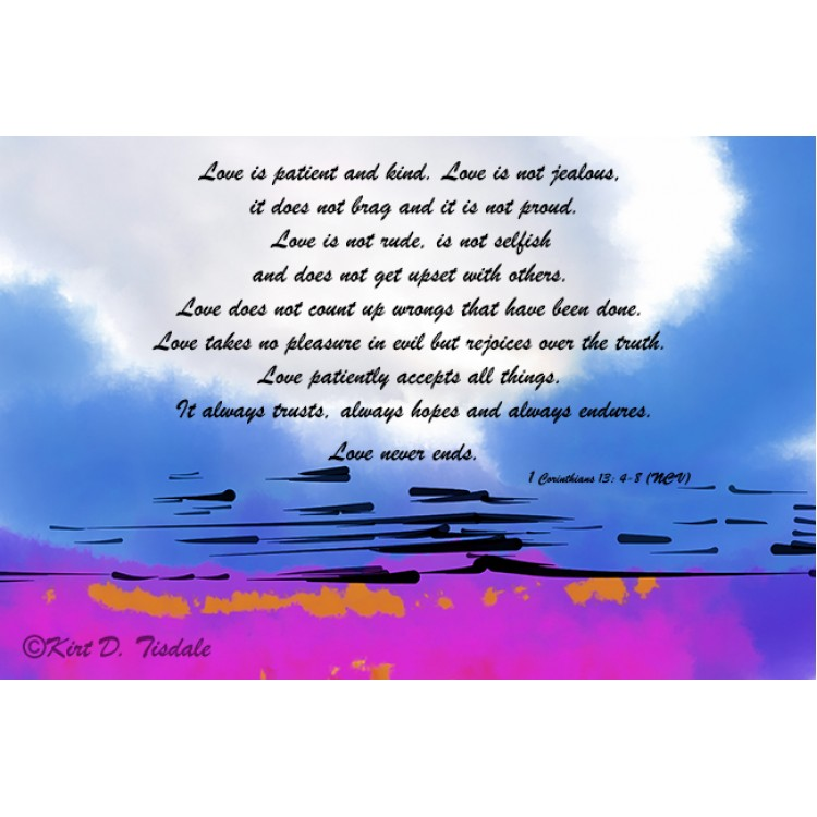 Love Is Patient: Snow Clearing In The Woods