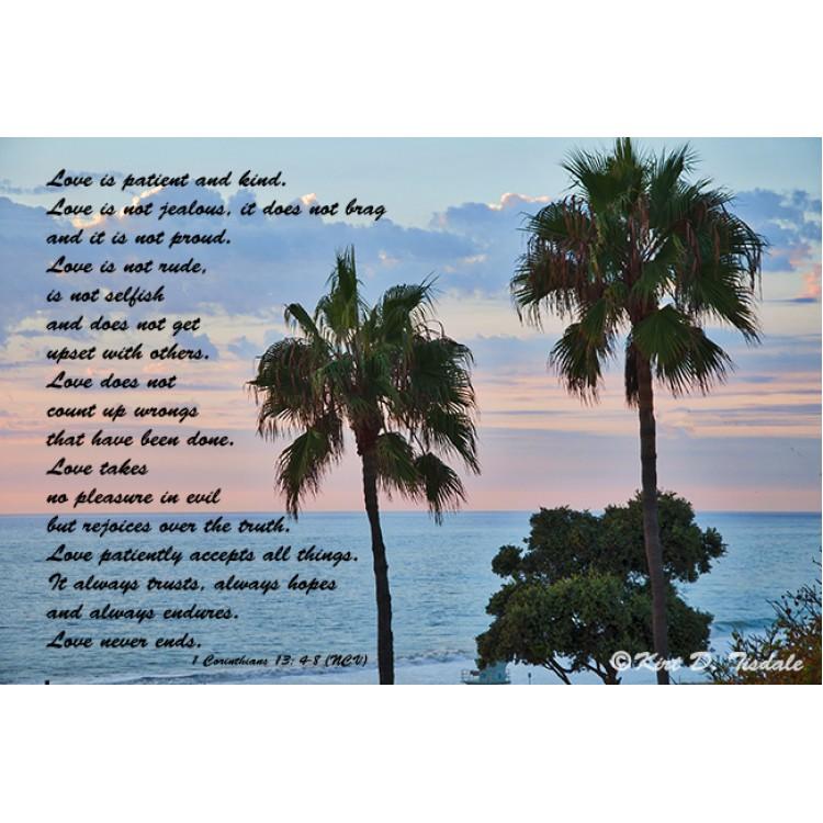 Seek His Peace: Pacific Ocean