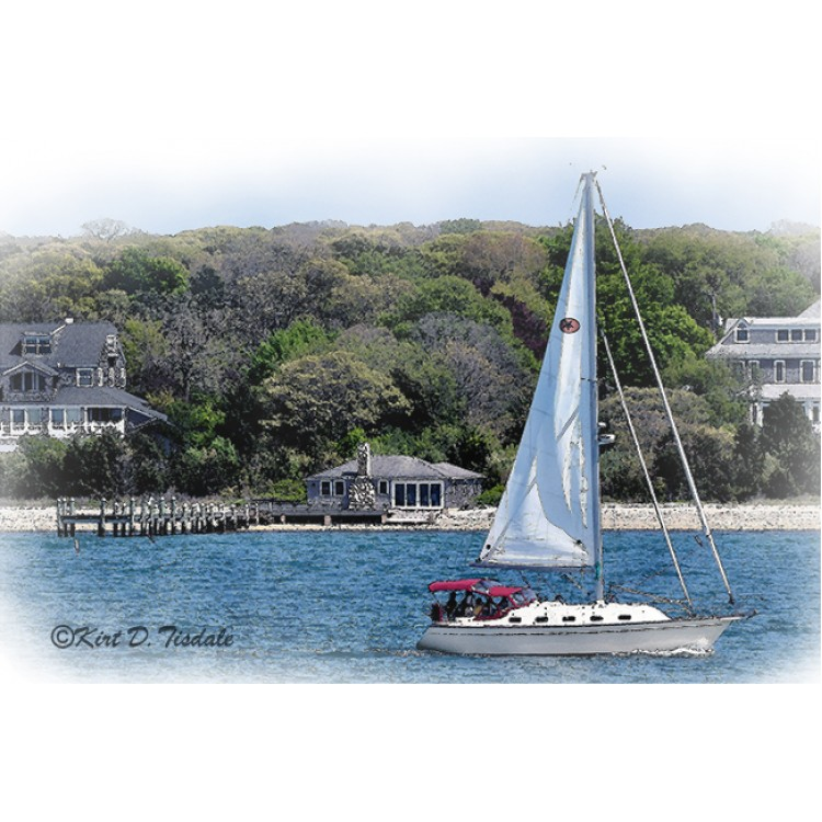Sailboat In New England