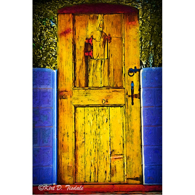 Faith - Red Camellia Bloom