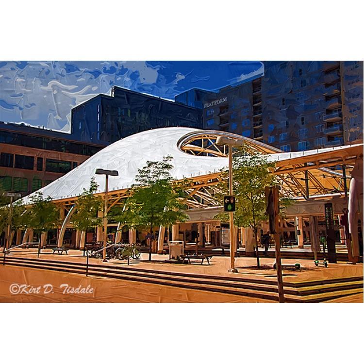 Denver Transit Center In Gothic
