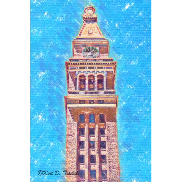 D&F Tower In Pastel Chalk