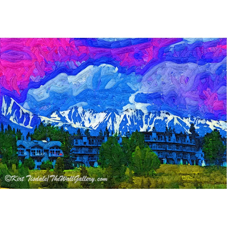 Marina On Lake Dillon In Fauvism