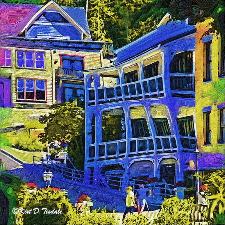 Roche Harbor Street Scene