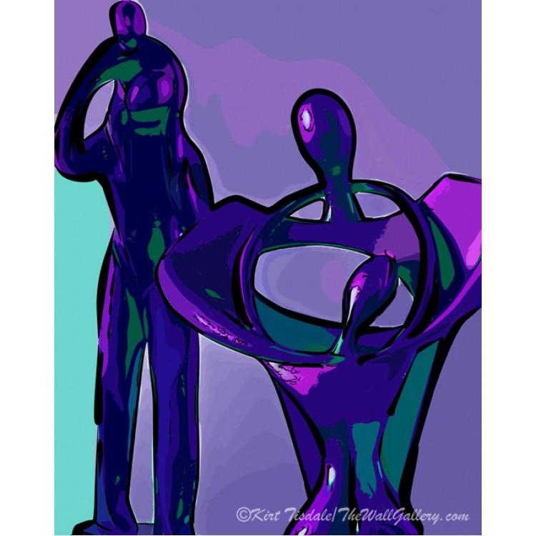 Barren Branches In Green