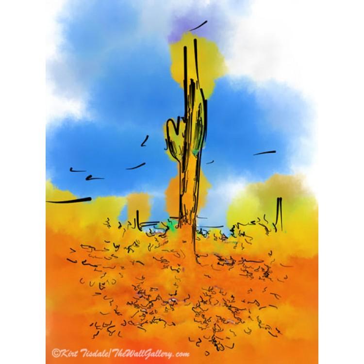 Subtle Abstract Hot Air Balloons