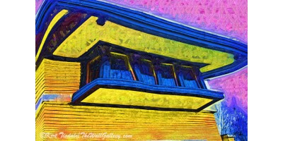 Frank Lloyd Wright Windows