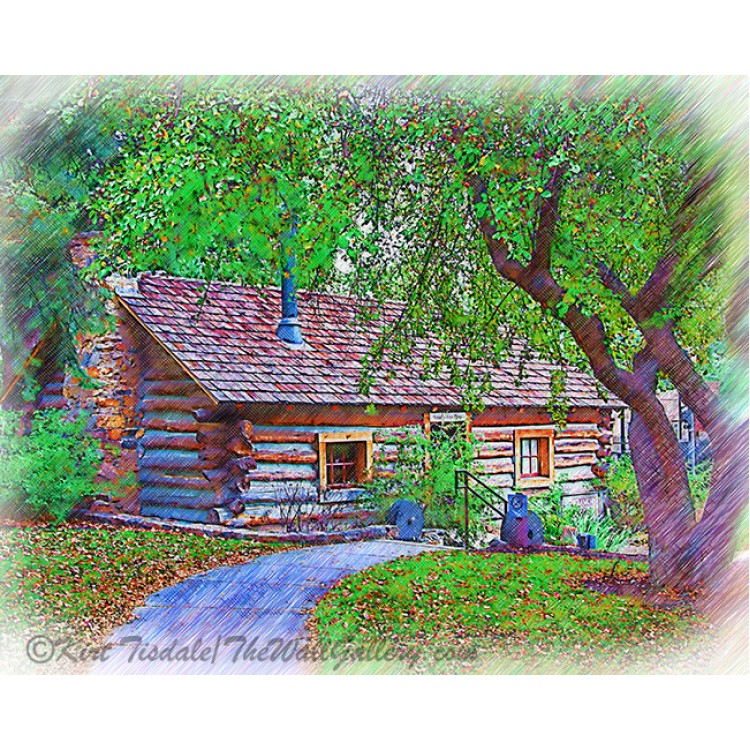 The Ranch House Sketched