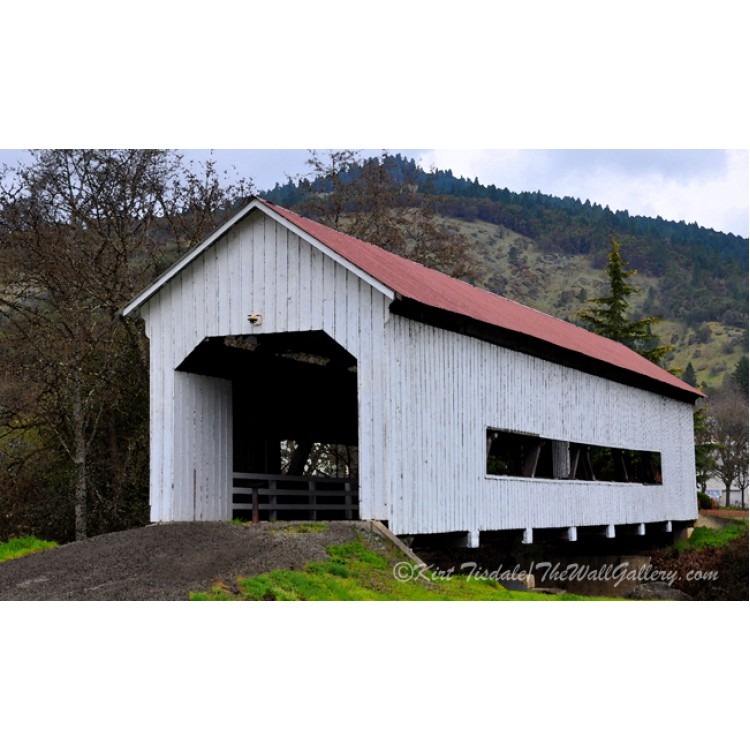 The Red Roof Covered Bridge