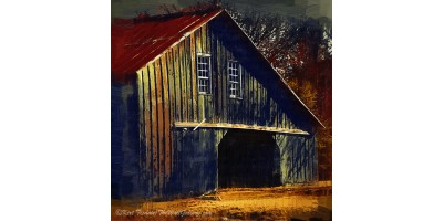 The Old Iowa Hay Barn