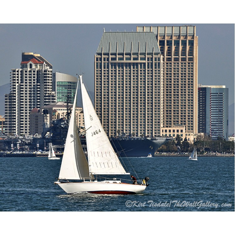 Sailing San Diego Bay Skyline