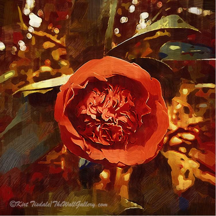 Gothic Red Camellia