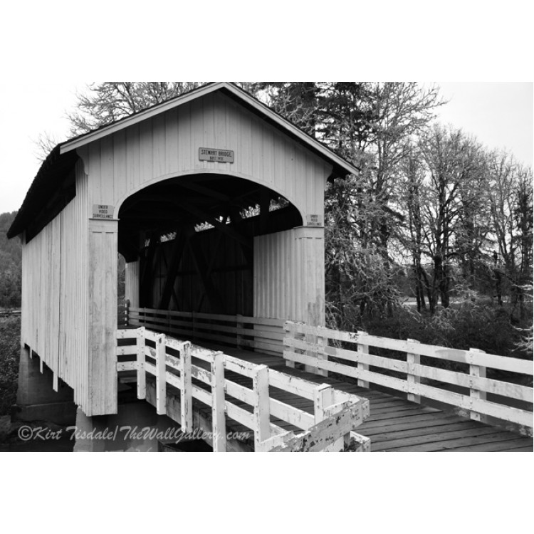Black And White Stewart Bridge