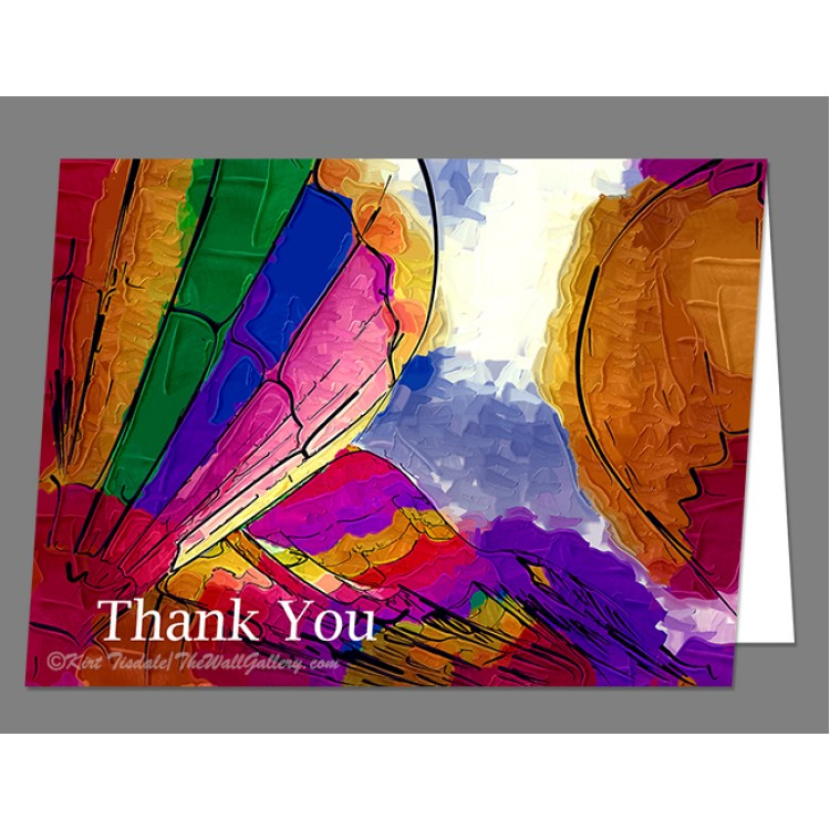 Triplets Thank You Card