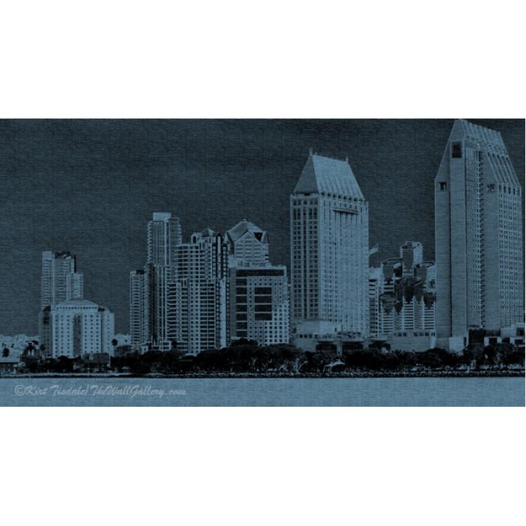 San Diego In Deep Blue