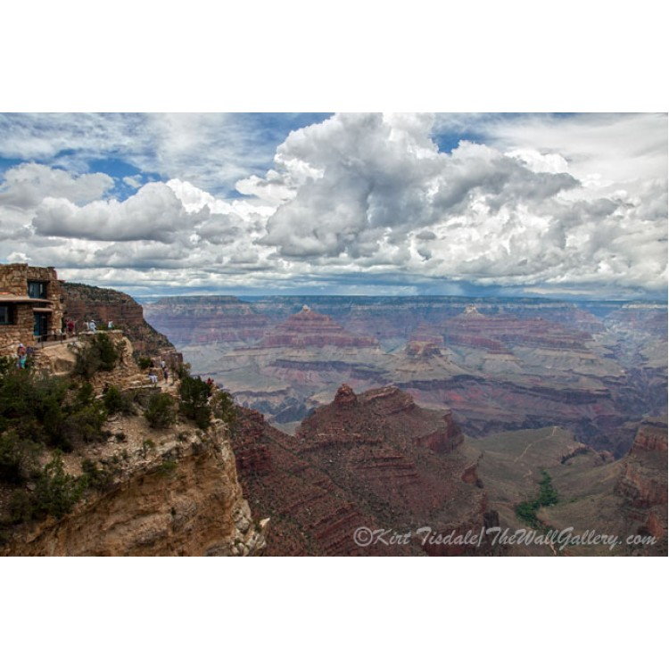 The Grand Canyon And Lookout Studio