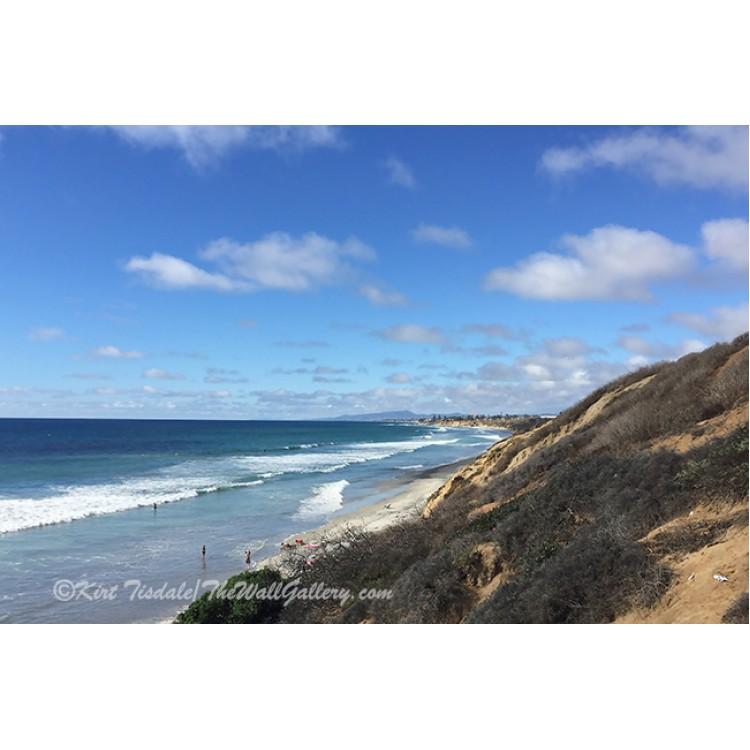 Ocean Surf In Carlsbad, California