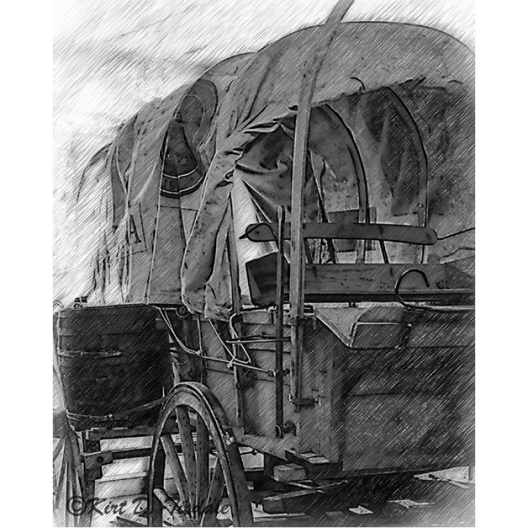 The Old Train Car