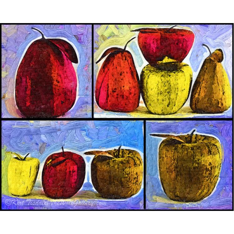 Four Square Fruit