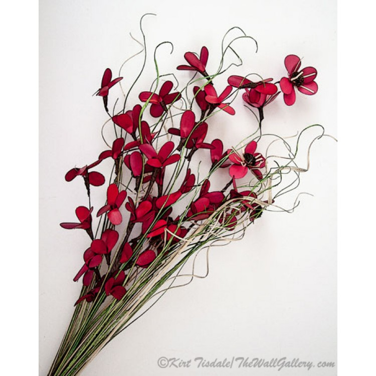 Dainty Red Right Slanted Bouquet