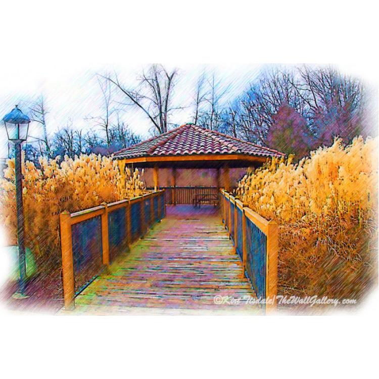 New England Village Public Garden