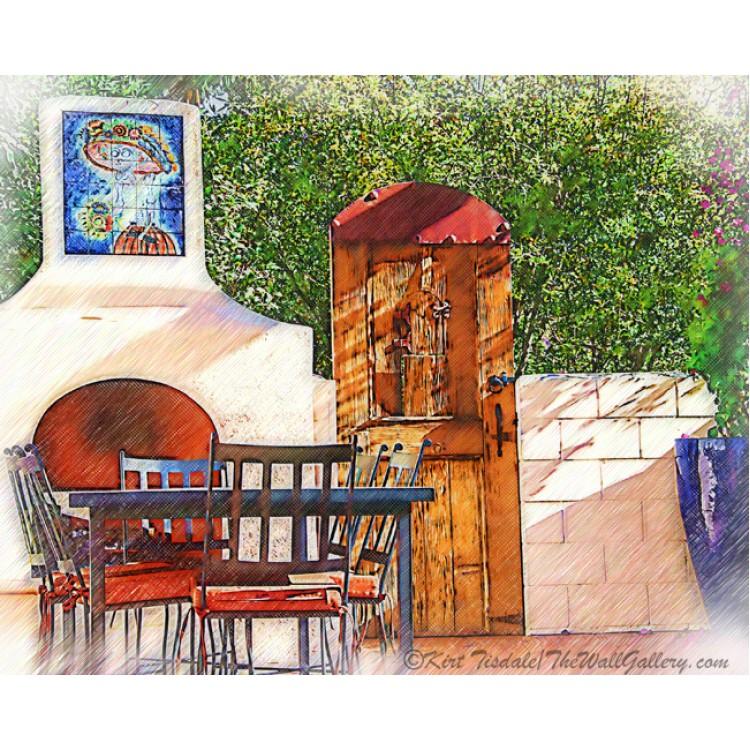 The Spanish Patio