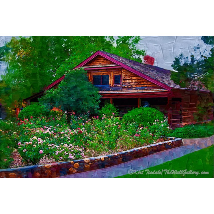 The Arizona Territorial Rose Garden