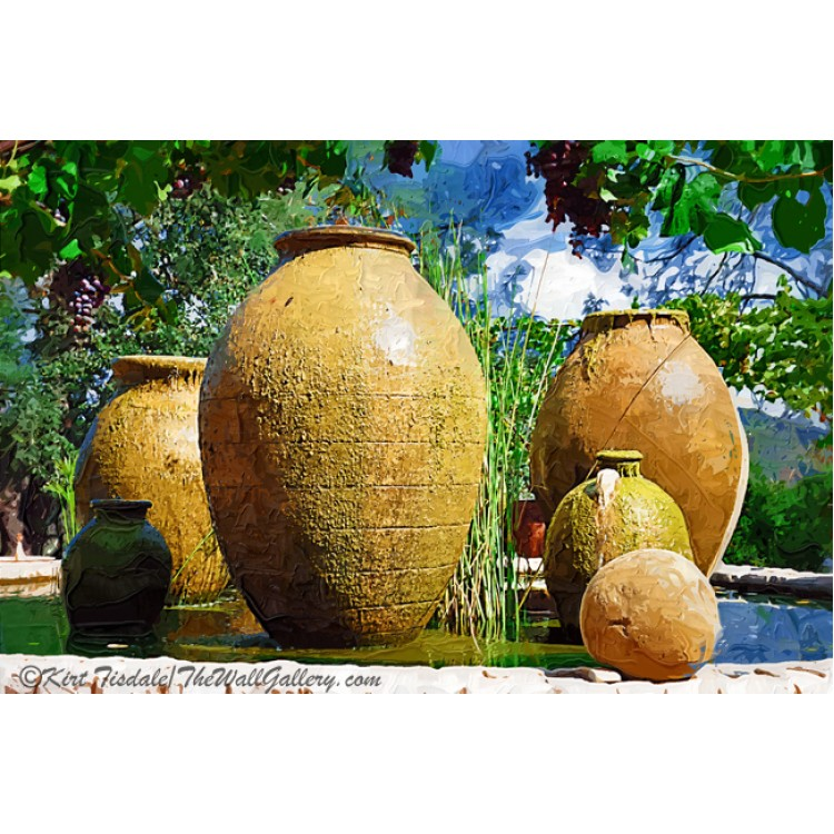 Spanish Urn Fountain