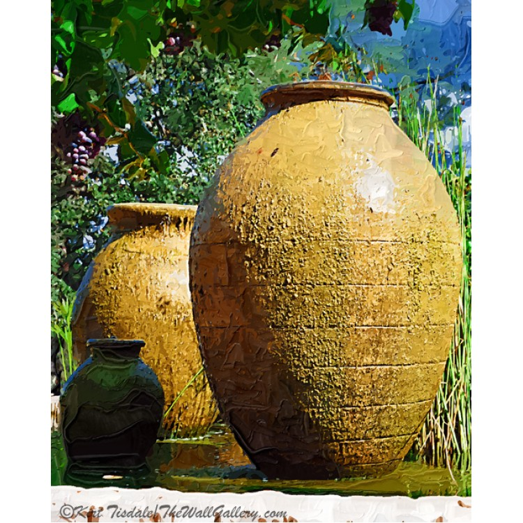 Two Large Urns