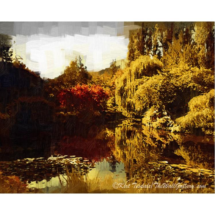 Butchart Garden Pond