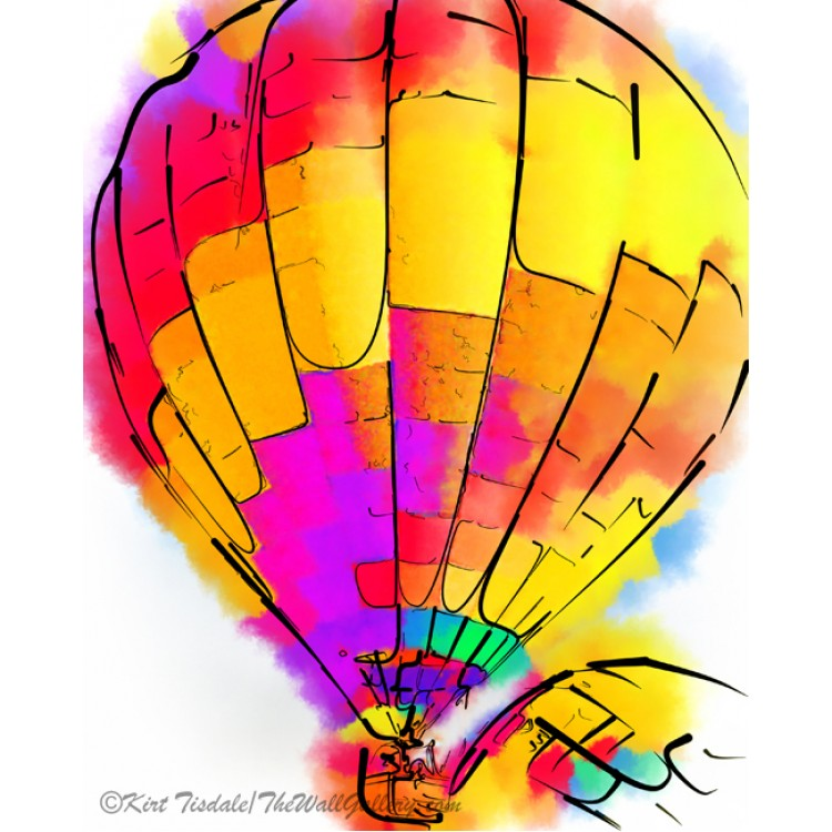 The Yellow And Red Balloon