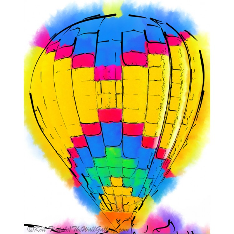The Yellow And Blue Balloon