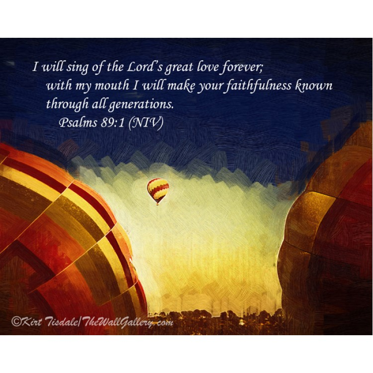 I Will Sing Of The Lord's Love