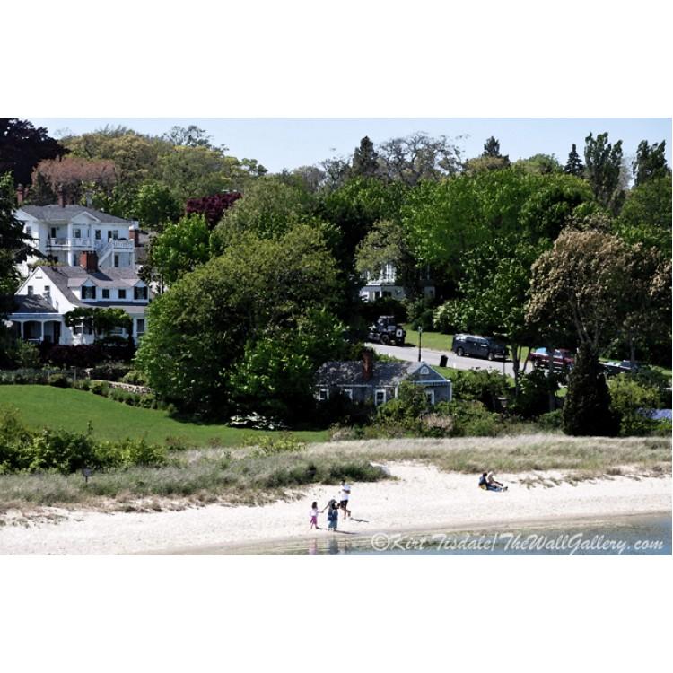 New England Summer Beach