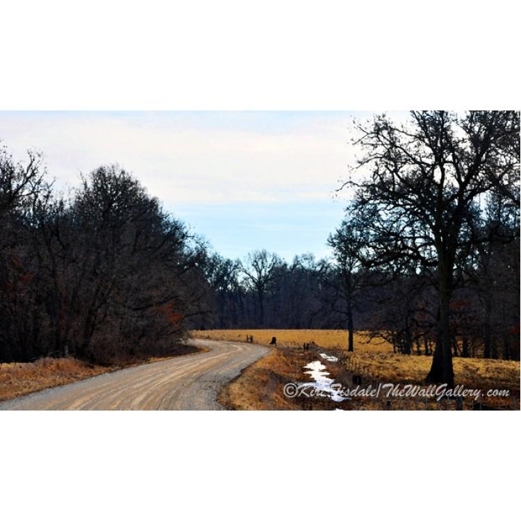 Iowa Country Road