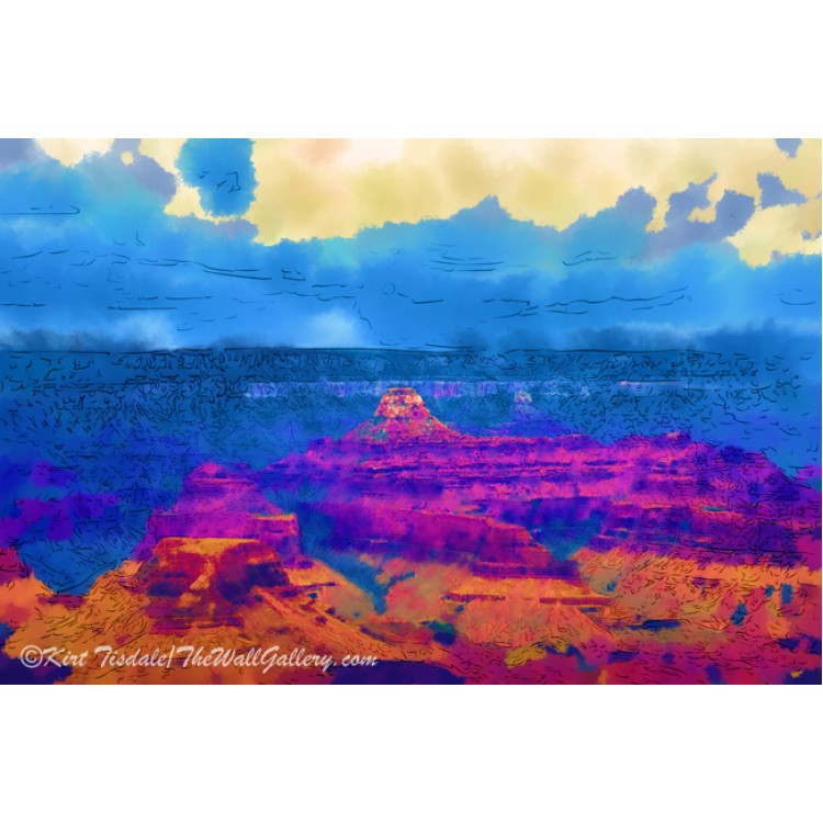The Grand Canyon Alive In Color
