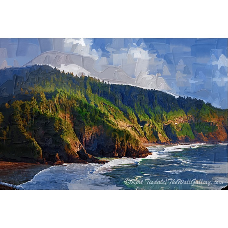 Oregon Coastal Bluff