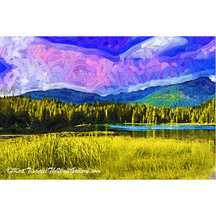 Hidden Lake Fauvism