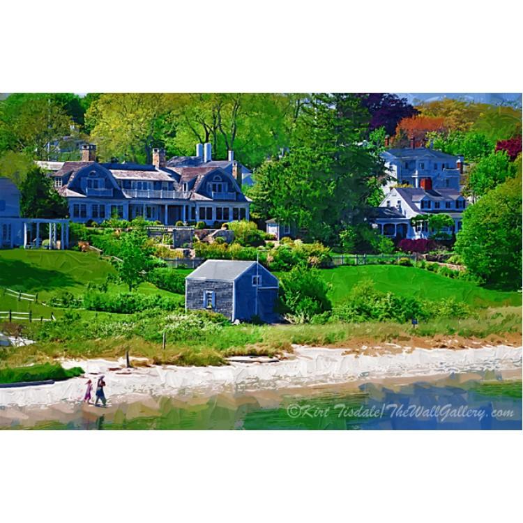 New England Beach Strolling