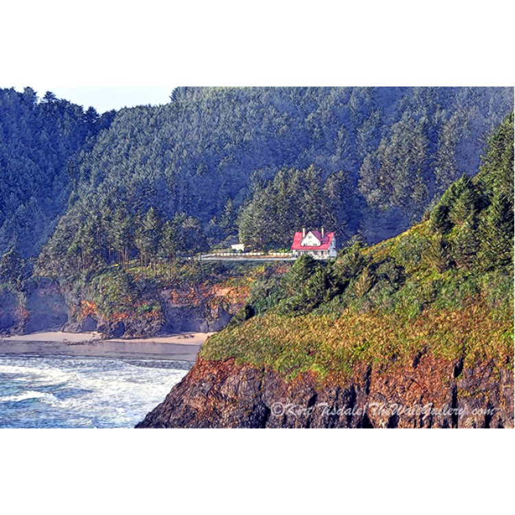 Nestled On The Bluff