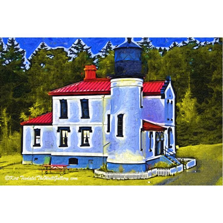 Yaquina Head Lighthouse Fauvist