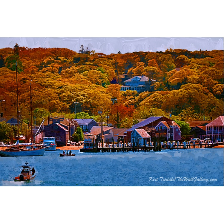 New England Fall Coastline