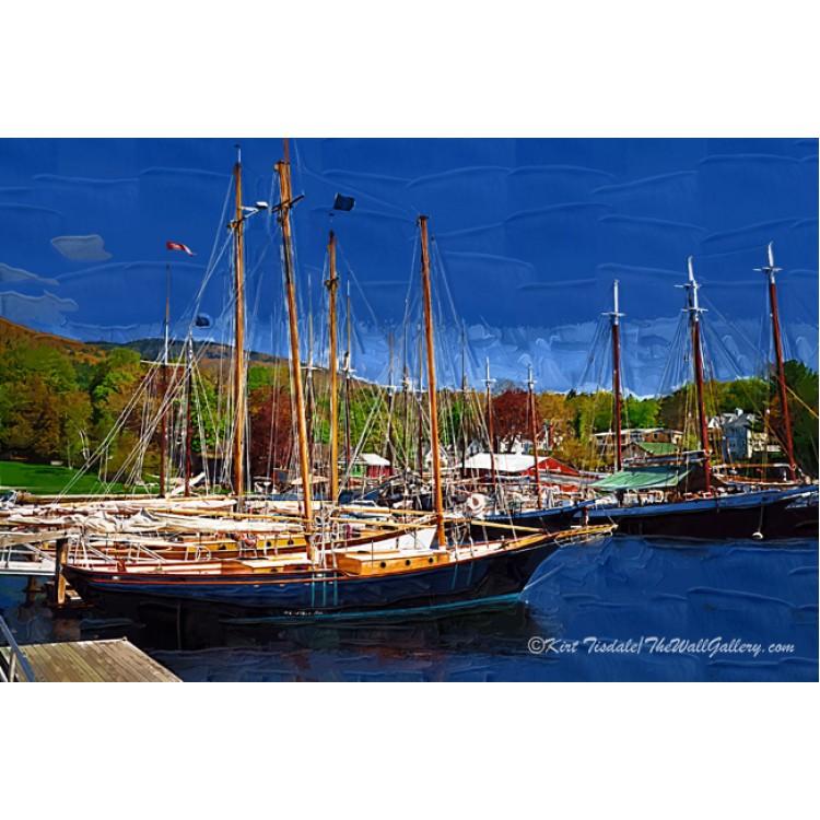 Black Sailboats