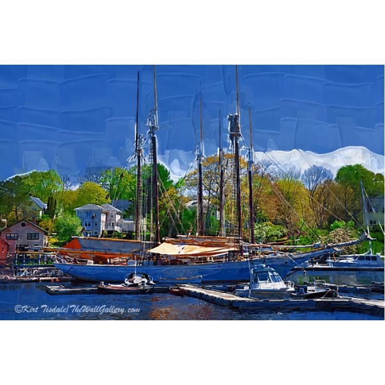 Springtime In The Harbor