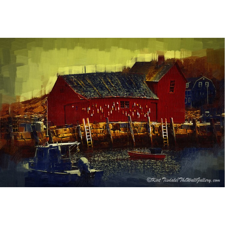 Red Boat Barn