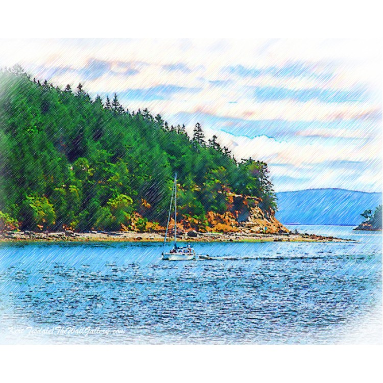 Sailing In The Pacific Northwest