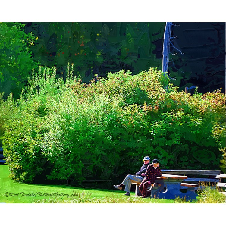 The Couple In The Park