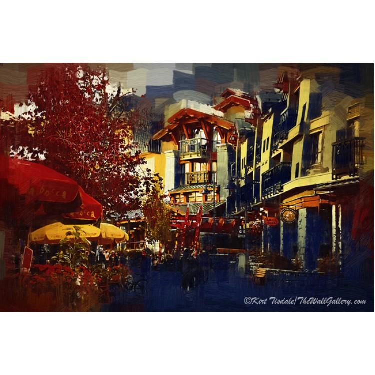 Whistler Street Scene