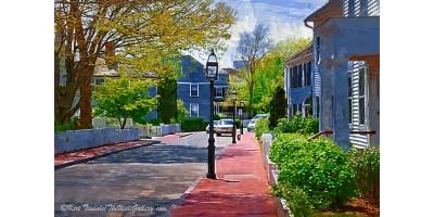 The New England Sidewalk